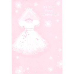 Hallmark Congratulations for Girl First Communion Card
