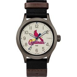 Timex Watch Men's Clutch St Louis Cardinals Titanium/black/other Item # Twzbcarmbyz