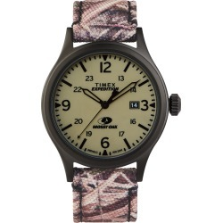 Timex Expedition Scout 40MM Fabric Strap Watch With Mossy Oak Camo Pattern
