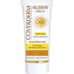 Coverderm: Filteray Face SPF20 (Light Beige) - 50ml found on Makeup Collection from The Jewellery Channel for GBP 16.37