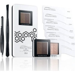 Beautiful Brows: Duo Brow Kit - Dark Brown/Chocolate found on Makeup Collection from The Jewellery Channel for GBP 30.57