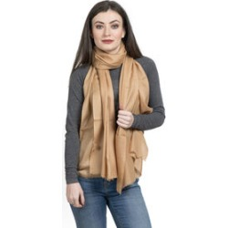 100% Cashmere Wool Camel Colour Shawl (Size 200x70 Cm) found on Bargain Bro UK from The Jewellery Channel