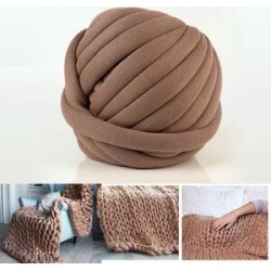 100% Cotton Filled Thick Rope in Brown (760cm) found on Bargain Bro UK from The Jewellery Channel