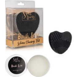 Soul Beauty: Vegan Brush Cleaner & Silicone Heart found on Makeup Collection from The Jewellery Channel for GBP 9.8