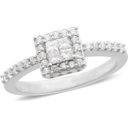 RHAPSODY 950 Platinum IGI Certified Diamond (Rnd) (VS /E-F) Ring 0.500 Ct. found on Bargain Bro UK from The Jewellery Channel