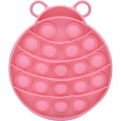 Push Bubble Stress Relieving Lady Bug Fidget for Adults/Children in Pink (12x11cm) found on Bargain Bro UK from The Jewellery Channel