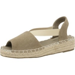 Dunlop Minna Espadrille Sandals in Khaki found on Bargain Bro UK from The Jewellery Channel