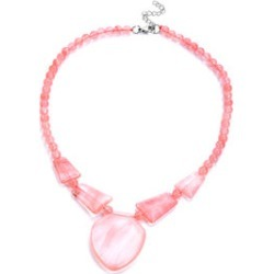 Cherry Quartz Necklace (Size 20 with Extender) found on Bargain Bro UK from The Jewellery Channel