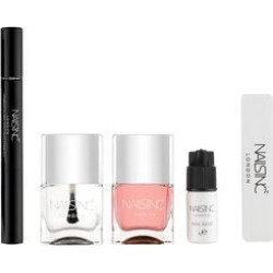 Nails Inc: Gel Manicure Set (Incl. Harley Street Base Coat, Kensington Caviar Top Coat, Vitamin E Cuticle Oil Pen, Nail Glue & Nail File) found on Makeup Collection from The Jewellery Channel for GBP 21.83