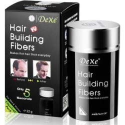 DeXe: Hair Building Fibres - Medium Brown found on Makeup Collection from The Jewellery Channel for GBP 5.16