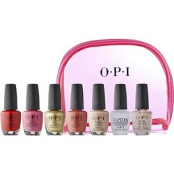OPI: 7 Piece Nail Polish & Treatment Set (15ML) with Bag found on Makeup Collection from The Jewellery Channel for GBP 46.12
