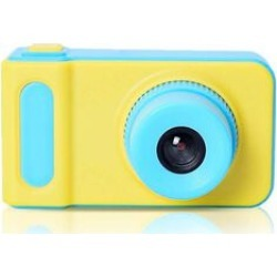 Kids Digital Camera (400mAh Rechargeable Battery, 4GB Card, Strap and USB Cable) with Inbuilt Games - Yellow and Blue found on Bargain Bro UK from The Jewellery Channel