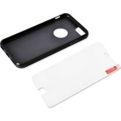 Antigravity iPHONE 6S Phone Cover Black with Logo Hole and Toughened Membrane (Size 14x7 Cm) found on Bargain Bro UK from The Jewellery Channel