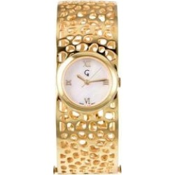 RACHEL GALLEY Swiss Movement Lattice Bangle Yellow Gold Overlay Sterling Silver Watch (Size 7.75), Silver wt 45.00 Gms found on Bargain Bro UK from The Jewellery Channel