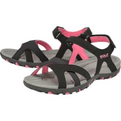 Gola Cedar Walking Sandal in Black and Hot Pink Colour found on MODAPINS from The Jewellery Channel for USD $25.48