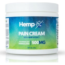 Hemp AM PM: Pain Relief Cream (500mg) - 110g found on Bargain Bro UK from The Jewellery Channel