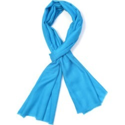 100% Cashmere Wool Turquoise Colour Scarf (Size 190x68Cm) found on Bargain Bro UK from The Jewellery Channel