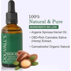 Douvalls: Skin High - Cannabis & Argan Oil - 50ml found on Makeup Collection from The Jewellery Channel for GBP 44.26
