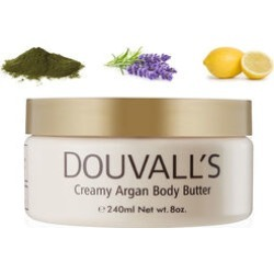 Douvalls: Argan Body Butter (Kelp, Lavender & Lemon) - 240ml found on Makeup Collection from The Jewellery Channel for GBP 31