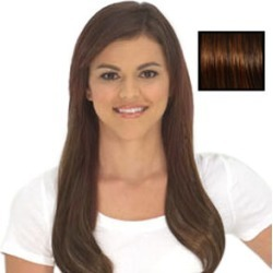 Secret Extensions: Medium Red Brown- With Loop Brush found on Makeup Collection from The Jewellery Channel for GBP 41.49