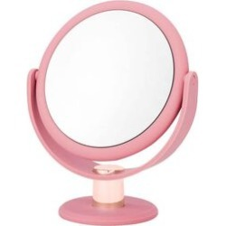 Blush, Rose Gold Handheld Hinge Mirror found on Makeup Collection from The Jewellery Channel for GBP 11.06