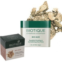 Biotique: Bio Mud Firming Face Mask - 75g found on Makeup Collection from The Jewellery Channel for GBP 5.75