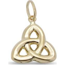 9K Yellow Gold Celtic Knot Pendant found on Bargain Bro UK from The Jewellery Channel
