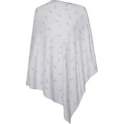 Kris Ana Paisley Scatter Poncho One Size (8-20) - Light Grey found on Bargain Bro UK from The Jewellery Channel