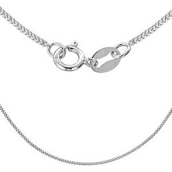 Sterling Silver Panza Curb Chain (Size 22) found on Bargain Bro UK from The Jewellery Channel