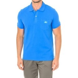 Karl Lagerfeld Mens Basic Polo Short Sleeve T-Shirt in Blue Colour found on Bargain Bro UK from The Jewellery Channel