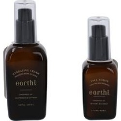 Super Auction - 2 Piece Set - Grape Seed & Saffron Hydrating Cream - 100 ML & Vetiver and Licorice Face Serum - 50 ML found on Makeup Collection from The Jewellery Channel for GBP 9.35