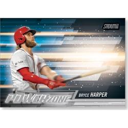 2018 Topps Baseball Stadium Club Bryce Harper Power Zone Poster - #'d to 99