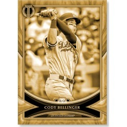 Cody Bellinger 2018 Topps Tribute Baseball Base Poster Gold Ed. - #'d to 1 found on Bargain Bro Philippines from Topps for $99.99