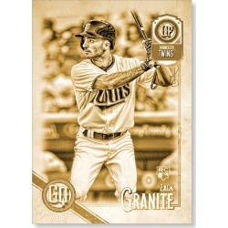 Zack Granite 2018 Topps Gypsy Queen Baseball Base Poster Gold Ed. - #'d to 1 found on Bargain Bro Philippines from Topps for $99.99
