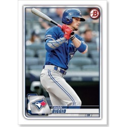 Cavan Biggio 2020 Bowman Baseball Base Cards Poster # to 99 found on Bargain Bro Philippines from Topps for $24.99