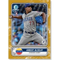 Adbert Alzolay 2020 Bowman Baseball Spanning The Globe Poster Gold Ed. # to 1 found on Bargain Bro Philippines from Topps for $99.99