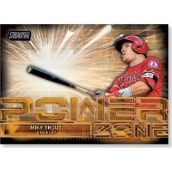 Mike Trout 2017 Topps Stadium Club POWER ZONE Poster - # to 99