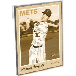 2019 Heritage Baseball Base Oversized Complete Base Set (400 Cards) Gold Ed. - # to 10