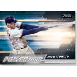 2018 Topps Baseball Stadium Club George Springer Power Zone Poster - #'d to 99