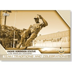 2020 Topps Opening Day Baseball Oversized Complete Teams Traditions & Celebrations Set (10 Cards) Gold Ed. - # to 10