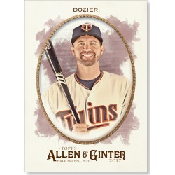 Brian Dozier 2017 Allen & Ginter BASE Poster - # to 99 found on Bargain Bro India from Topps for $24.99