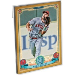 2019 Gypsy Queen Baseball Base Oversized Complete Base Set (300 Cards) Gold Ed. - # to 10
