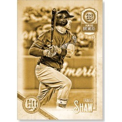 Travis Shaw 2018 Topps Gypsy Queen Baseball Base Poster Gold Ed. - #'d to 1 found on Bargain Bro Philippines from Topps for $99.99