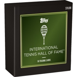 2019 Tennis Hall of Fame Set found on Bargain Bro India from Topps for $19.99