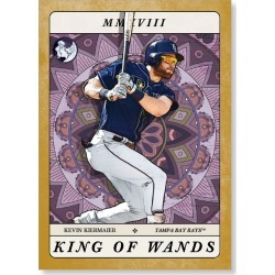 Kevin Kiermaier 2018 Topps Gypsy Queen Baseball Tarot Of The Diamond Poster Gold Ed. - #'d to 1 found on Bargain Bro Philippines from Topps for $99.99