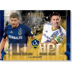 LA Galaxy MLS Apex Alliances Poster - Gold Ed. # to 1