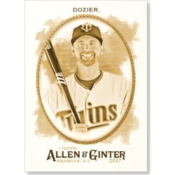 Brian Dozier 2017 Allen & Ginter BASE Poster - Gold Ed. # to 1 found on Bargain Bro India from Topps for $99.99