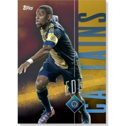 Maurice Edu MLS Apex Captains Poster - Gold Ed. # to 1