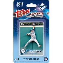 2018 Topps Tampa Bay Rays Mini Team Set found on Bargain Bro India from Topps for $6.99