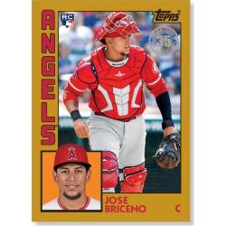 Jose Briceno 2019 Topps Baseball Series 2 1984 Topps Baseball Rookies Poster Gold Ed. # to 1